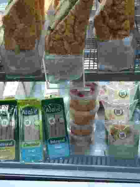Público também encontra sanduíches naturais na CCXP - Leonardo Rodrigues/UOL - Leonardo Rodrigues/UOL