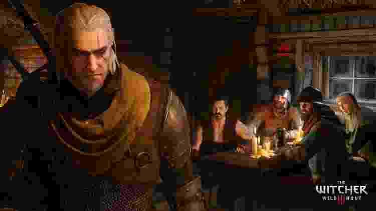 The Witcher 3 Geralt - Divulgação - Divulgação