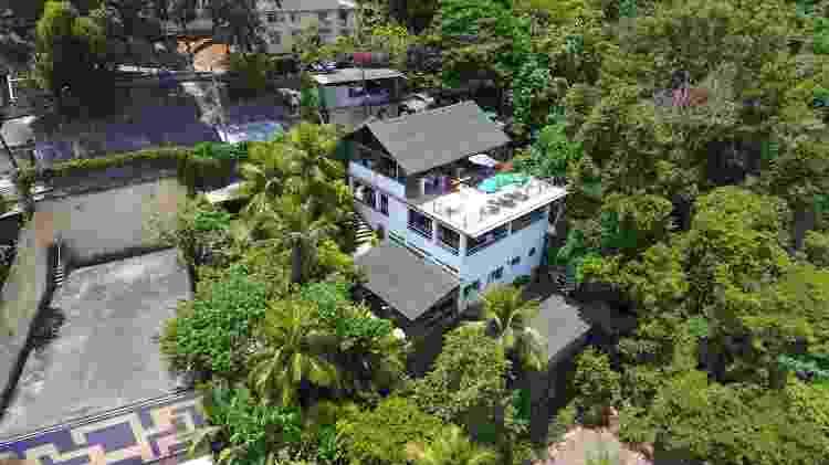 Vista aérea do restaurante Mirante da Floresta, na zona norte do Rio - Instagram/mirantedafloresta - Instagram/mirantedafloresta