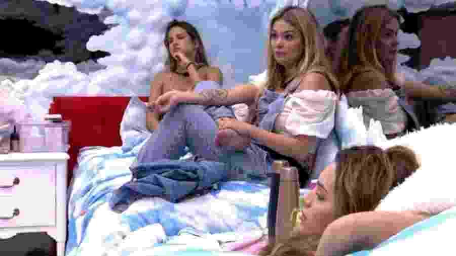 BBB 20: Marcela defende Mari para sisters - Reprodução/Globoplay