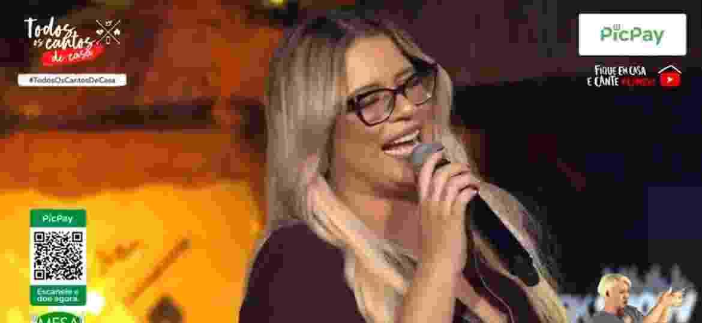 Marília Mendonça faz segunda live em seu canal no YouTube - Reprodução/YouTube