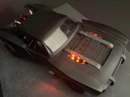Novo Batmóvel mostra influência de muscle cars sem perder aura ...