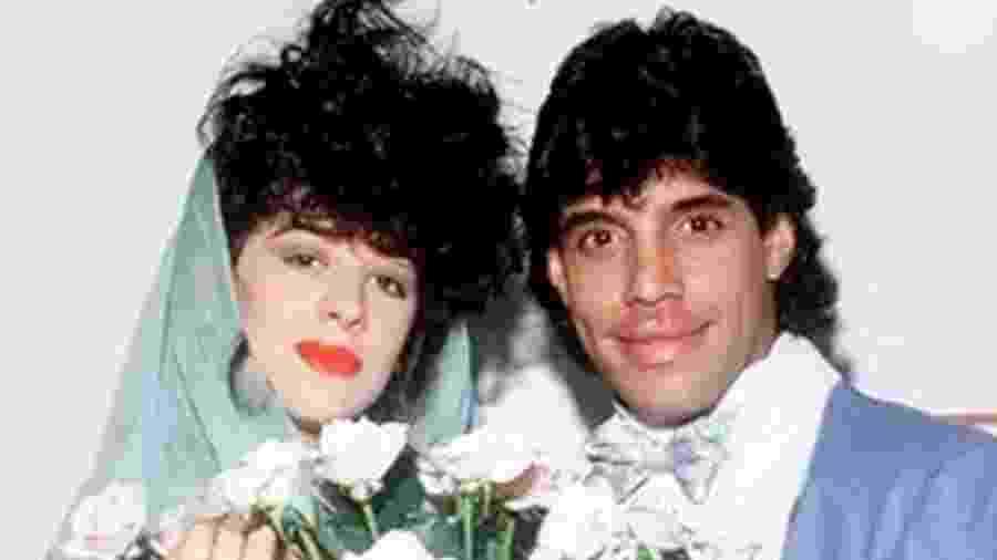 Claudia Raia e Alexandre Frota no dia do casamento - Reprodução/Instagram