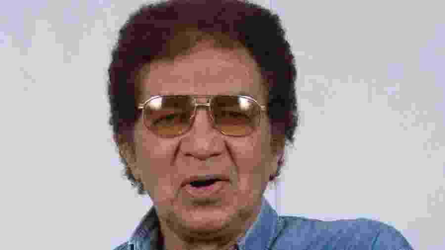 O cantor Reginaldo Rossi (Recife, 14 de fevereiro de 1943 ? Recife, 20 de dezembro de 2013) - Reprodução