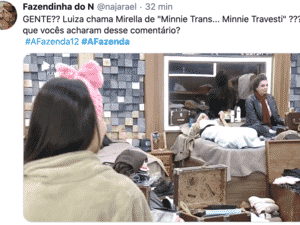 Web repercute comentário de Luiza Ambiel - Reprodução/Twitter - Reprodução/Twitter