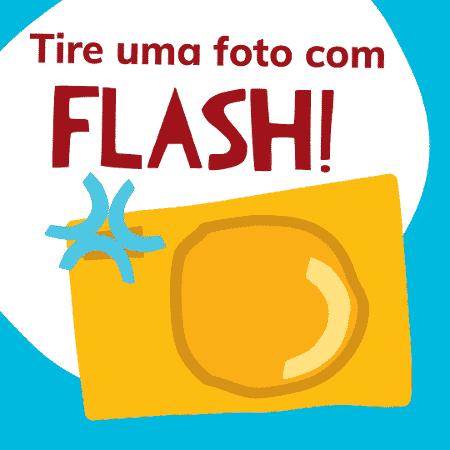 Foto com flash - retinoblastoma - Divulgação/Tucca - Divulgação/Tucca