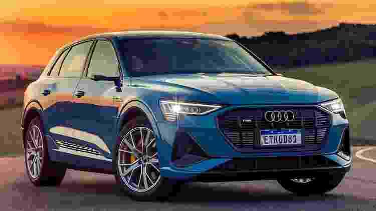 Audi e-tron - Divulgação - Divulgação