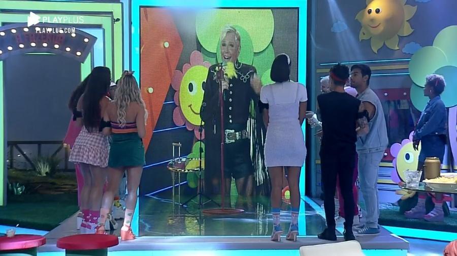 A Fazenda 2020: Xuxa brinca com peões em festa #Tbt - Reprodução/Playplus