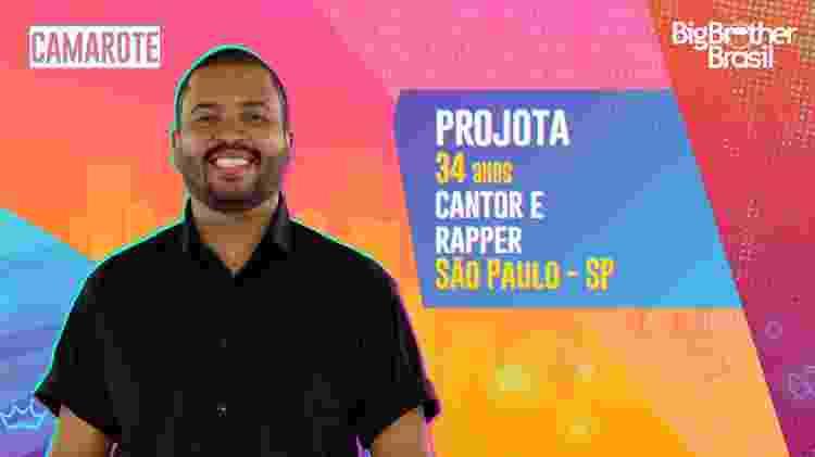 Projota no BBB 21 - Divulgação - Divulgação