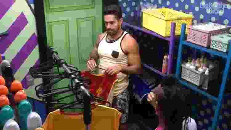 BBB 21: Arcrebiano e Karol falam sobre eliminação na segunda prova do líder - Reprodução/Globoplay - Reprodução/Globoplay