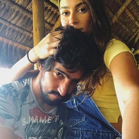 Thaila Ayala protagoniza momento romântico com o marido, Renato Góes - Reprodução/Instagram