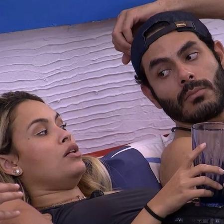 BBB 21: Rodolffo já fez comentários homofóbicos, mas Sarah deverá ser eliminada antes - Reprodução/Globoplay