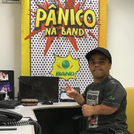Pedrinho Moura fez parte do elenco do Pânico na Band - Arquivo Pessoal