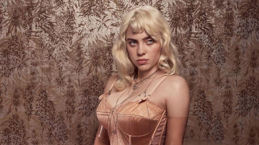 Billie Eilish falou de reação a fotos de lingerie para a Vogue - Reprodução/Vogue