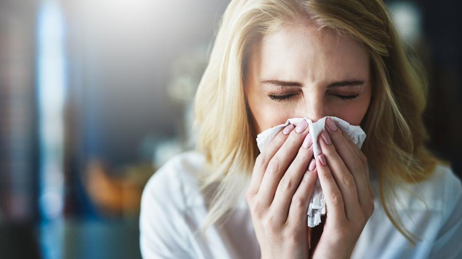 Rinite e Sinusite em dias frios - Getty Images