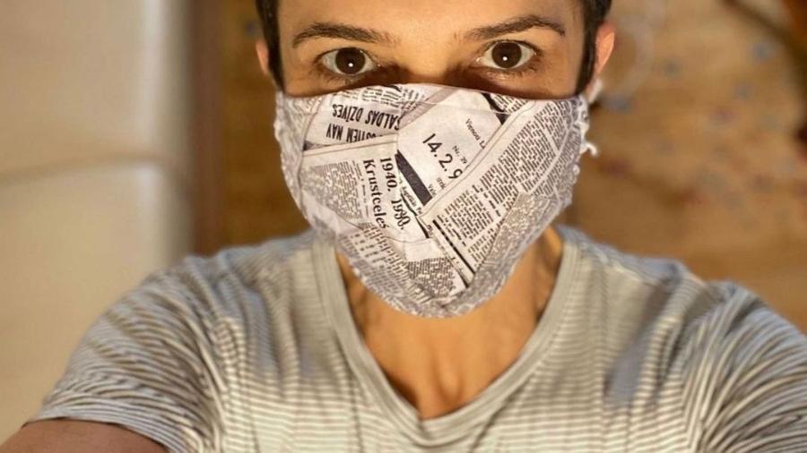 Sandra Annenberg pede pelo uso de máscara - Reprodução/Instagram