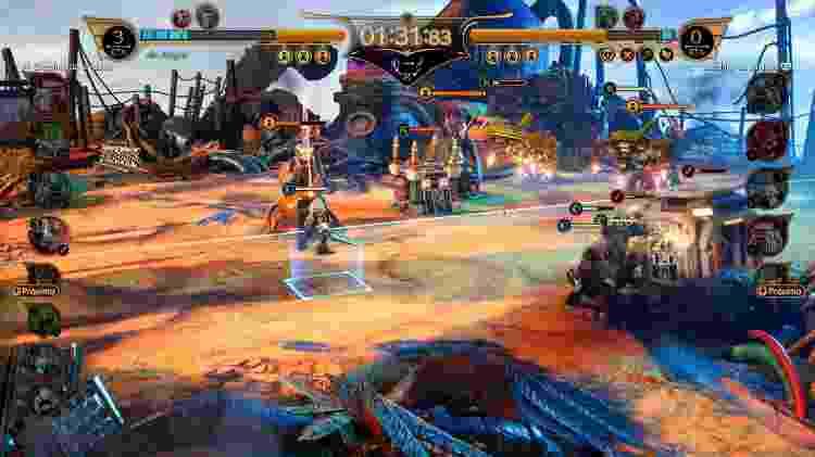 Final Fantasy 7 Remake Fort Condor - Daniel Esdras/ GameHall - Daniel Esdras/ GameHall