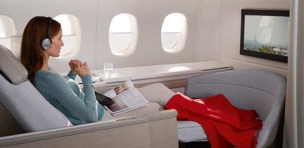 Site americano diz que ainda é possível conseguir um lugar na primeira classe de graça - Divulgação/Air France