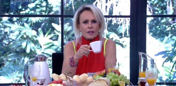 Ana Maria Braga falou sobre o desafio de parar de fumar - Reprodução/TV Globo