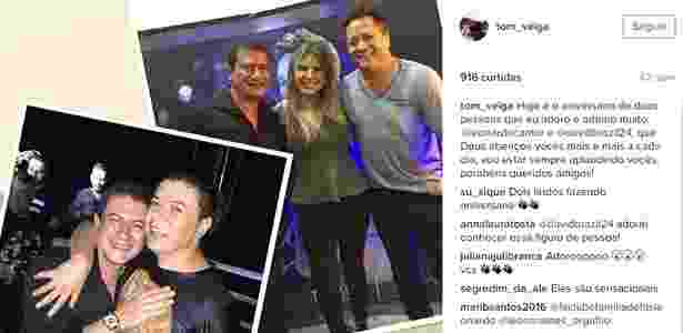 Reprodução/Instagram/tom_veiga