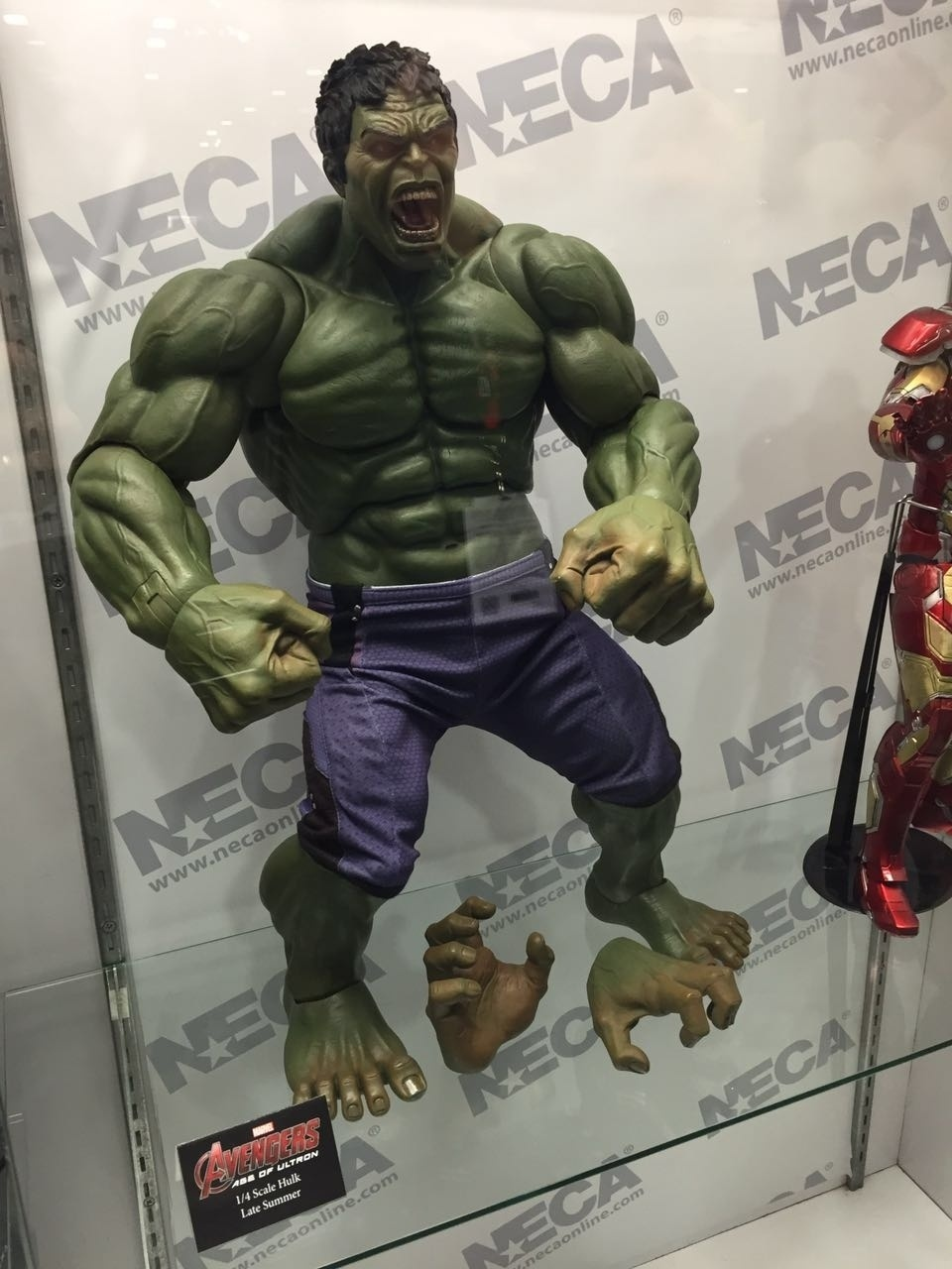 Hulk virou um action figure assustador em exibição na San Diego Comic-Con 2016