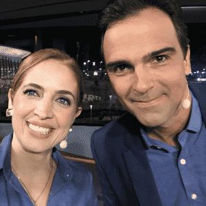 """Alarme falso de incêndio faz """"Fantástico"""" iniciar com apresentadora reserva - Reprodução/TV Globo"""