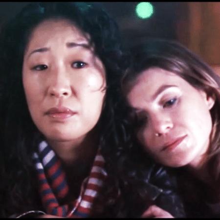 """Sandra Oh e Ellen Pompeo em """"Grey""""s Anatomy"""" - Reprodução"""