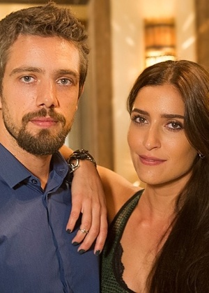 """Em """"Sol Nascente """", Maria Joana interpreta Carol, aliada de César (Rafael Cardoso) para separar o casal protagonista da trama - Divulgação/ TV Globo / Mauricio Fidalgo)"""