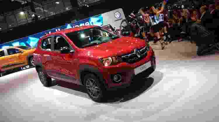 Renault Kwid: tamanho mini e pretensões gigantescas no Brasil - Murilo Góes/UOL