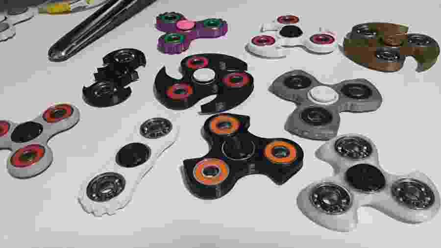 Fidget Hand Spinner Brasil/Reprodução