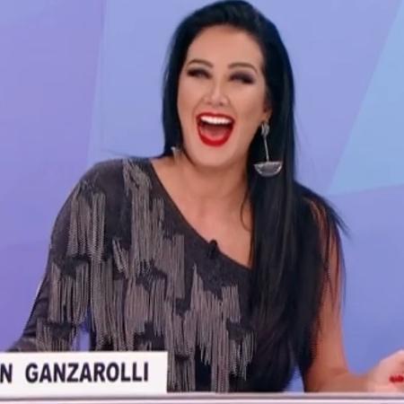 "Helen Ganzarolli no ""Programa Silvio Santos"" - Reprodução/SBT"