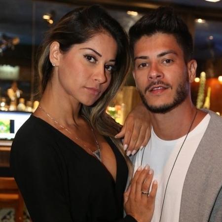 Mayra Cardi e Arthur Aguiar  - André Freitas/ AgNews