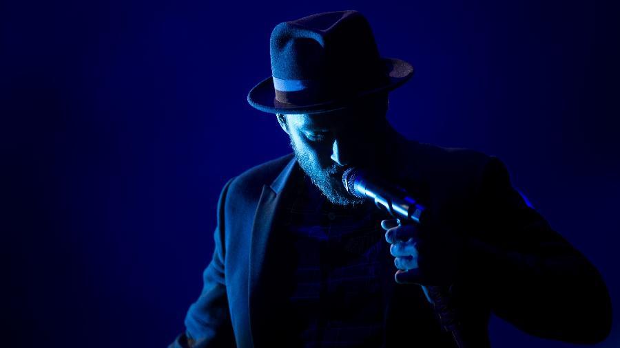 O cantor Justin Timberlake se apresenta fechando a noite do terceiro dia do Rock in Rio - Ricardo Borges/Folhapress