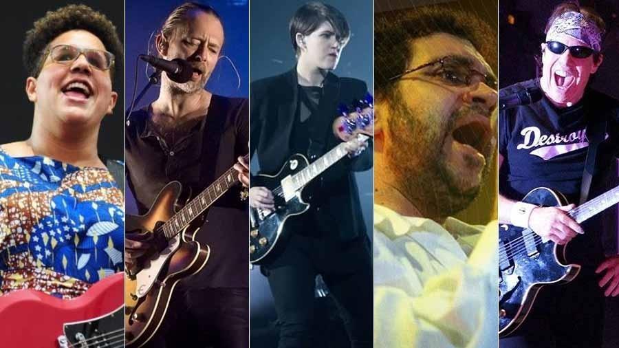 """Alabama Shakes, Radiohead, The XX, Renato Russo e George Thorogood estão na trilha sonora de """"O Outro Lado do Paraiso"""" - Montagem UOL"""