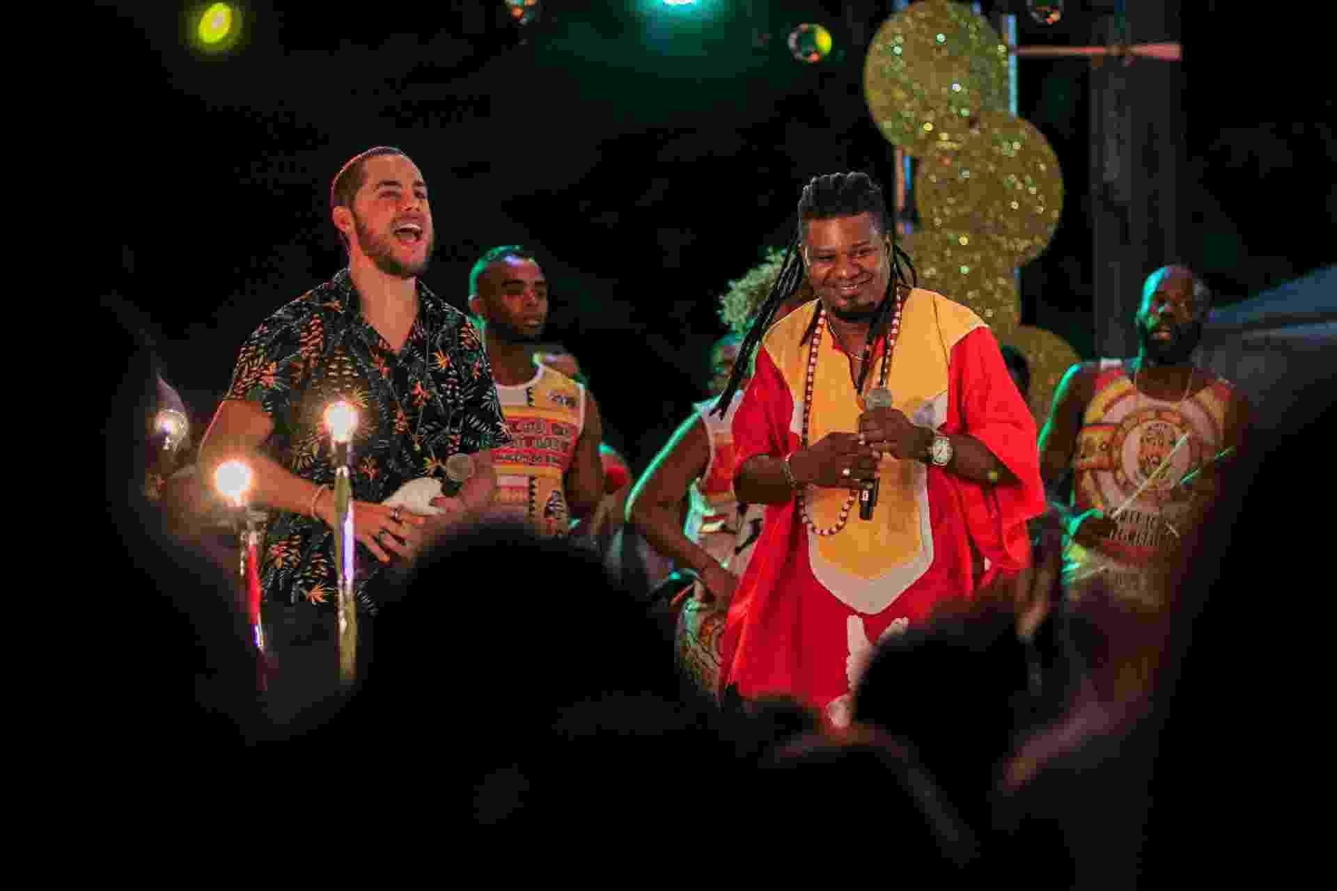 Jammil em show com Olodum e Ilê Ayê - GB Souza/Divulgação