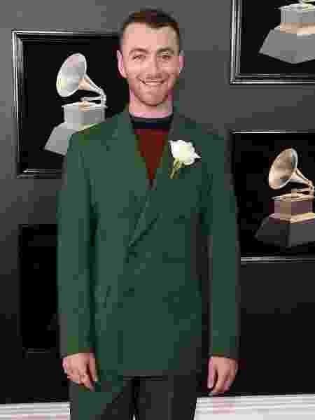 Sam Smith no Grammy 2018 - Getty Images