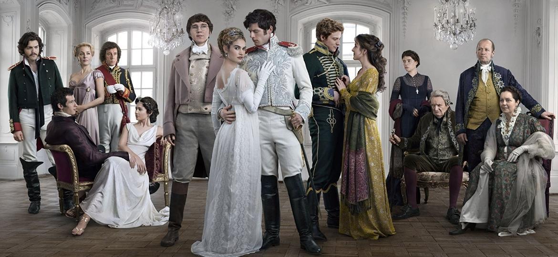 """""""Guerra e Paz"""", minissérie da BBC baseada na obra de Tolstói, chega à Globo - Divulgação"""