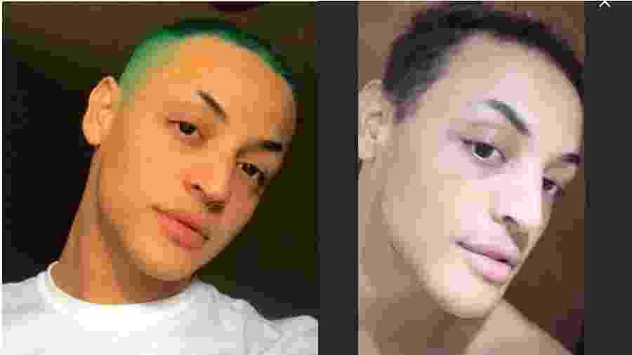 Pabllo Vittar antes e depois das cirurgias no nariz - Reprodução/Instagram