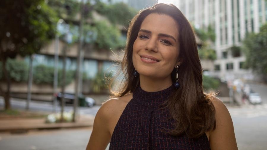 """Natalia Leite é a apresentadora do """"Superpoderosas""""  - Divulgação/TV Bandeirantes"""