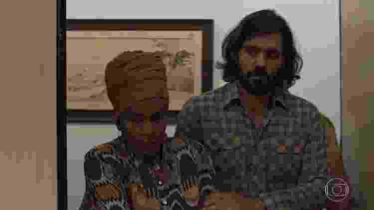 """Mariano """"ressuscita"""" após tesourada e aparece em julgamento de Sophia  - Reprodução/TV Globo - Reprodução/TV Globo"""