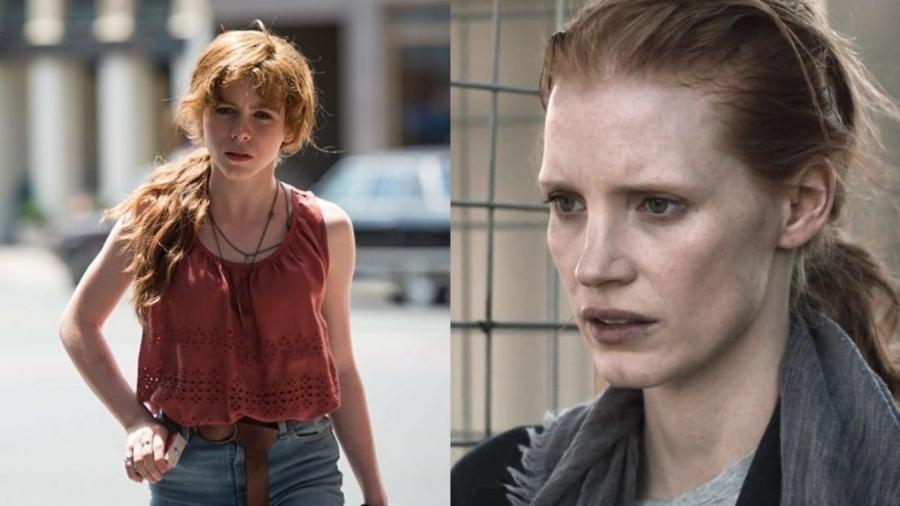 Jessica Chastain será Beverly Marsh , originalmente vivida por Sophia Lillis . - Reprodução