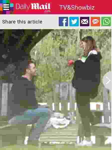 Chris Pratt e Katherine Schwarzenegger - Reprodução/Daily Mail - Reprodução/Daily Mail