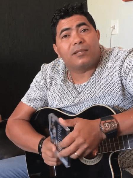 O cantor Rennan - Reprodução