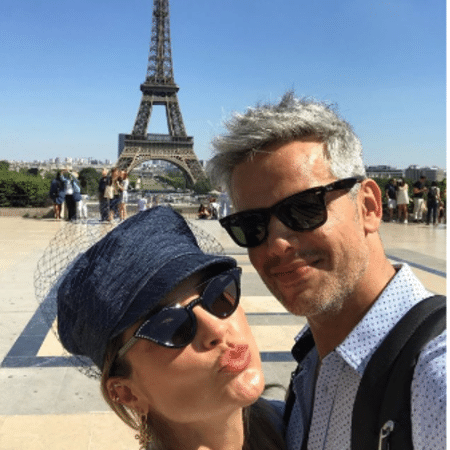 Flávia Alessandra e Otaviano Costa em Paris, na França - Reprodução/Instagram