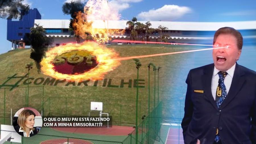 """Silvio Santos faz tantas mudanças no SBT que vira meme """"atacadão"""" - Reprodução"""