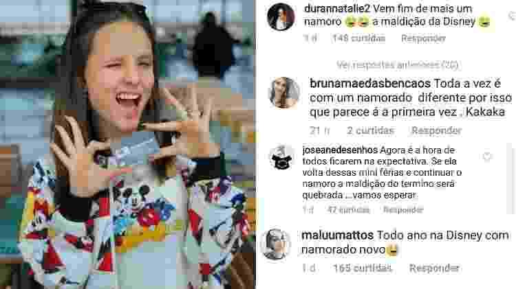 Larissa Manoela na Disney é zoada por seguidores - Reprodução/Instagram - Reprodução/Instagram