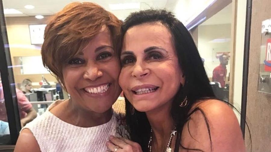 Gretchen e Graça Araújo - Reprodução/Instagram