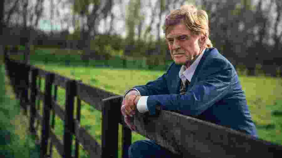 "Robert Redford em ""The Old Man & the Gun"" - Eric Zachanowich/Divulgação"
