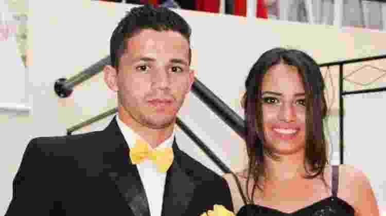 Jackson Silva dos Santos e Geovanna Crislaine Soares da Silva - Reprodução/Arquivo pessoal - Reprodução/Arquivo pessoal