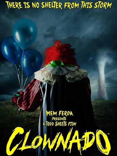 """Pôster do filme """"Clownado"""" - Divulgação"""